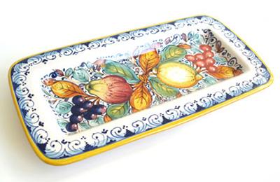 Tuscan Fruit Long Platter