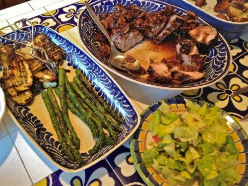 gorky gonzalez serving platters and plate