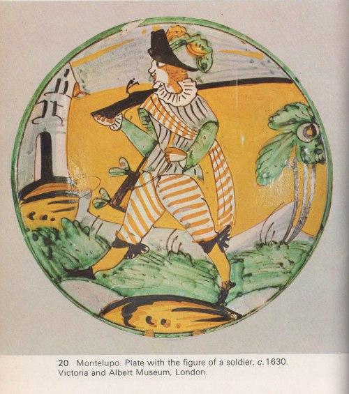 Italian soldier plate